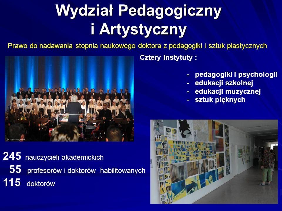 Wydział Pedagogiczny i Artystyczny