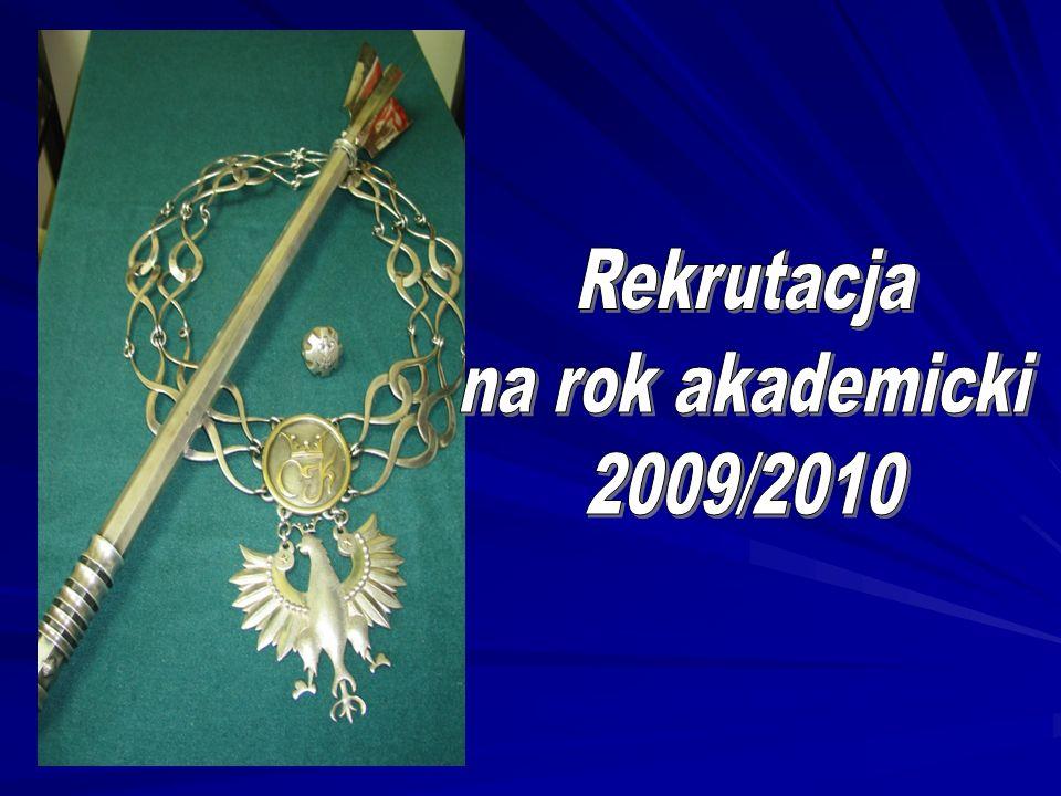 Rekrutacja na rok akademicki 2009/2010