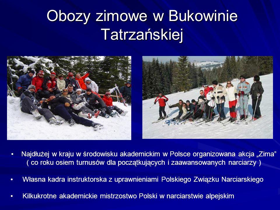Obozy zimowe w Bukowinie Tatrzańskiej