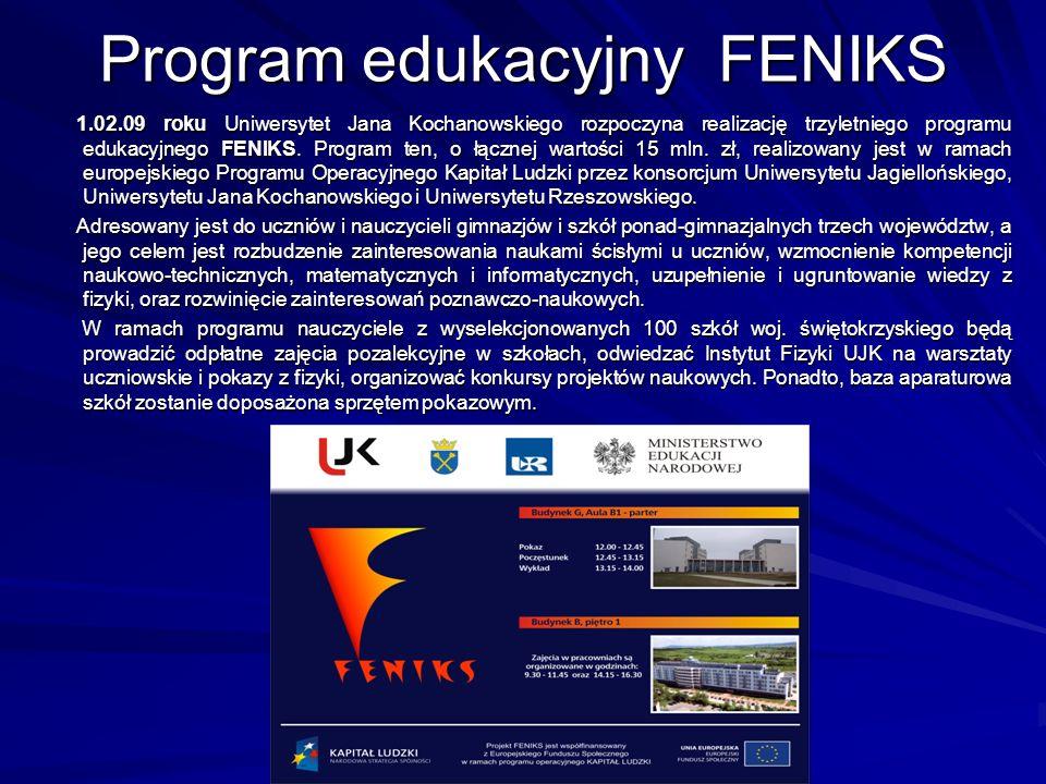 Program edukacyjny FENIKS