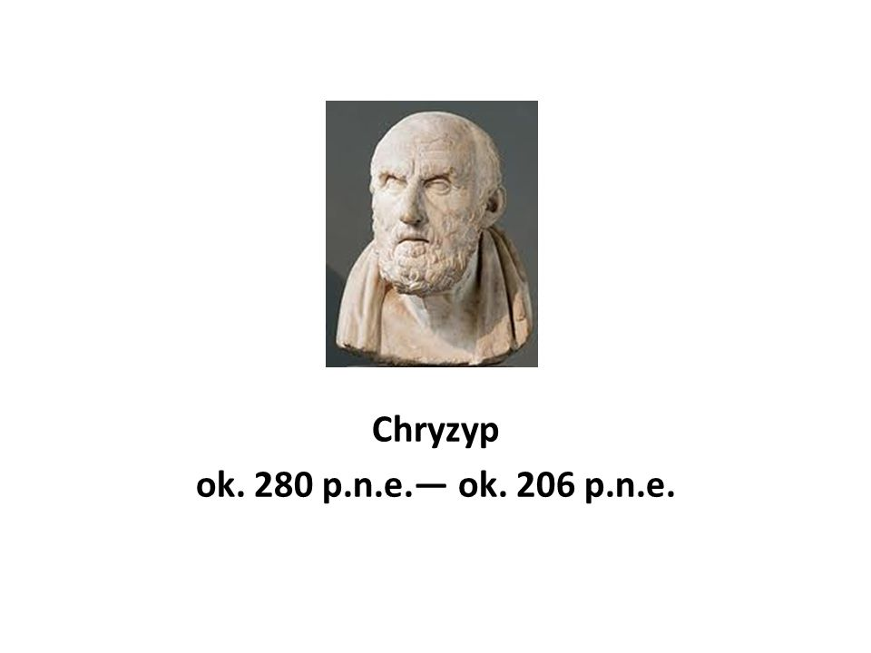 Chryzyp ok. 280 p.n.e.— ok. 206 p.n.e.
