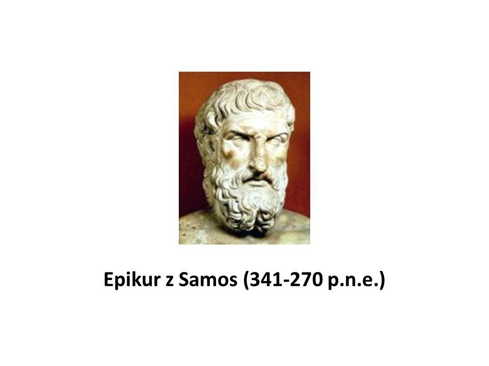 Epikur z Samos (341-270 p.n.e.)
