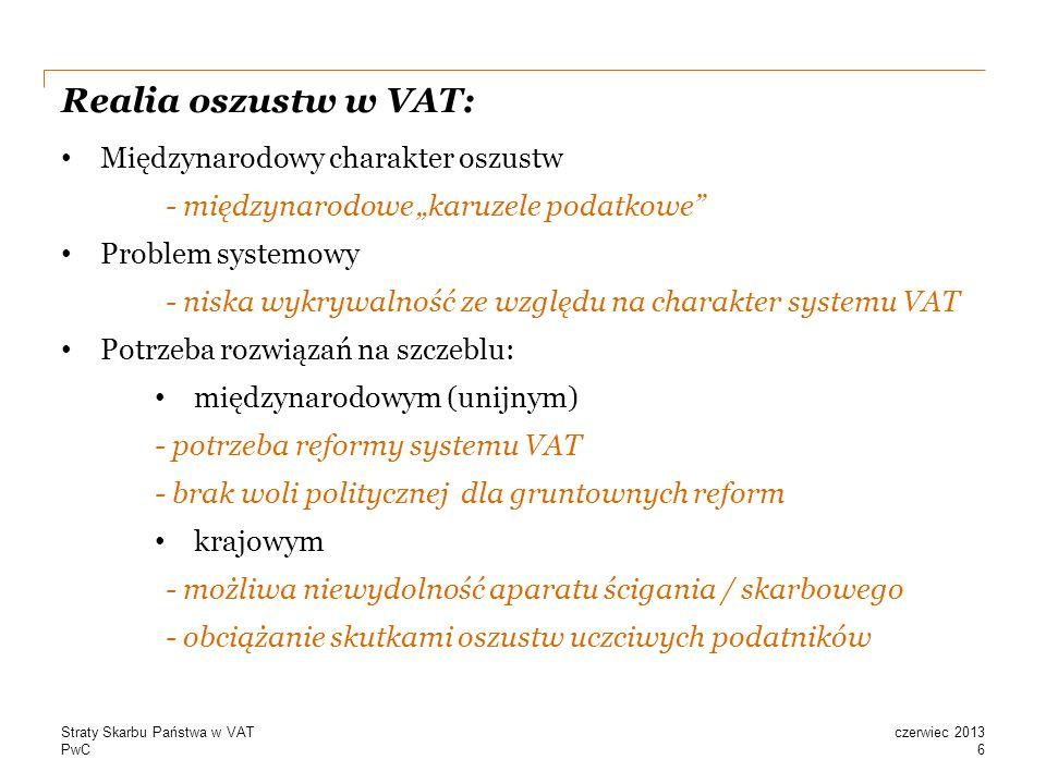 Realia oszustw w VAT: Międzynarodowy charakter oszustw