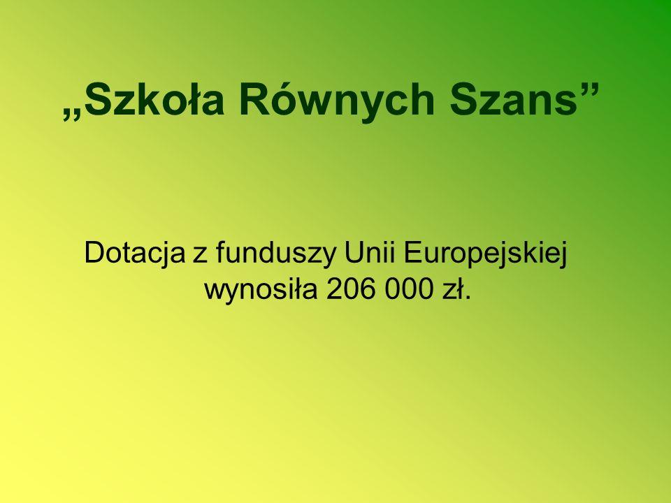 """""""Szkoła Równych Szans"""