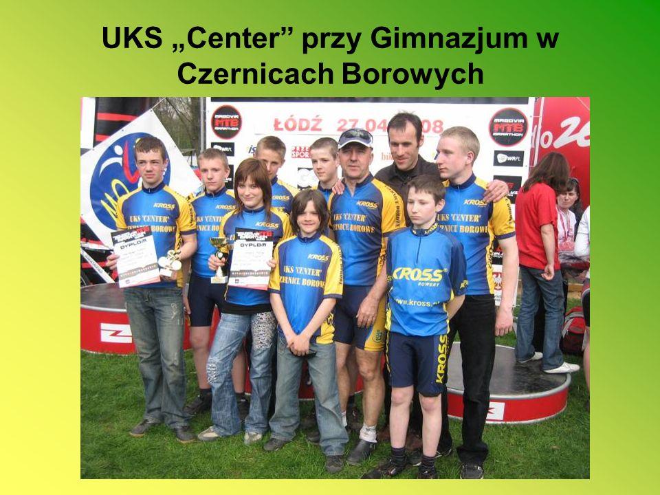 """UKS """"Center przy Gimnazjum w Czernicach Borowych"""