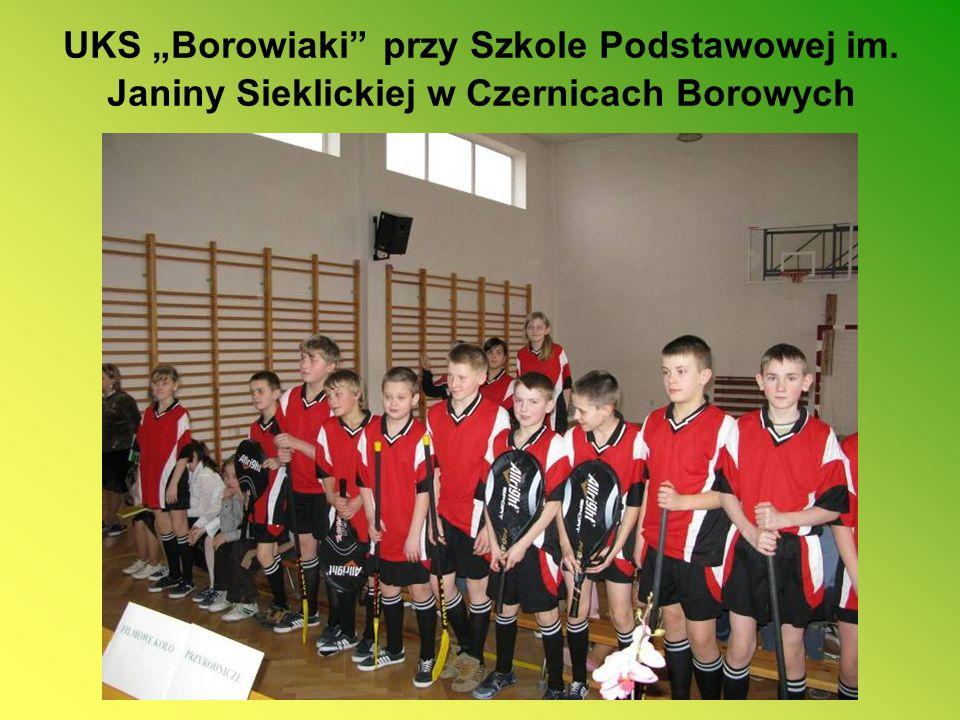 """UKS """"Borowiaki przy Szkole Podstawowej im"""