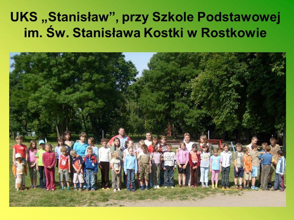 """UKS """"Stanisław , przy Szkole Podstawowej im. Św"""