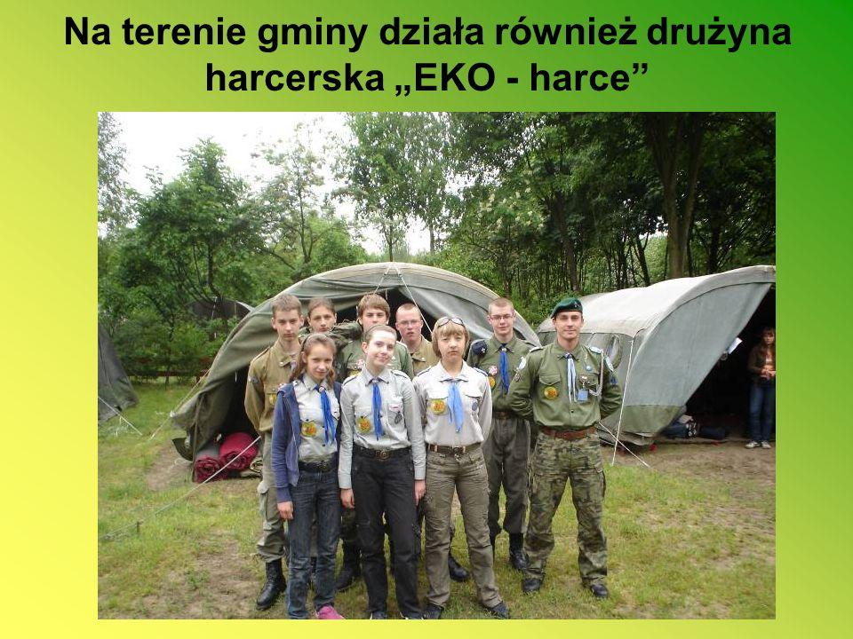 """Na terenie gminy działa również drużyna harcerska """"EKO - harce"""
