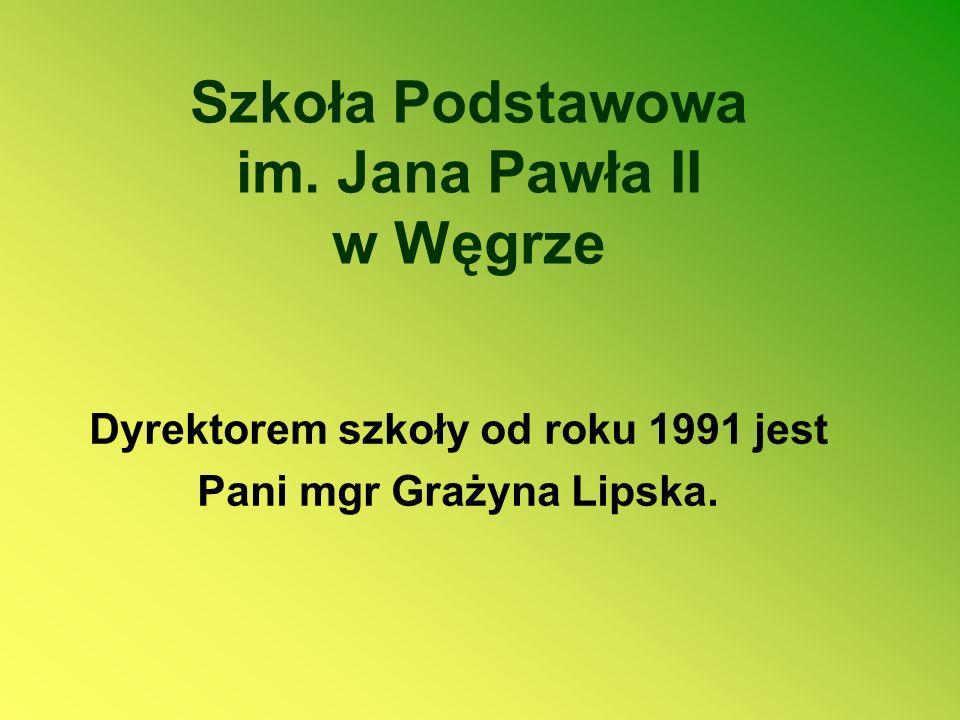 Szkoła Podstawowa im. Jana Pawła II w Węgrze