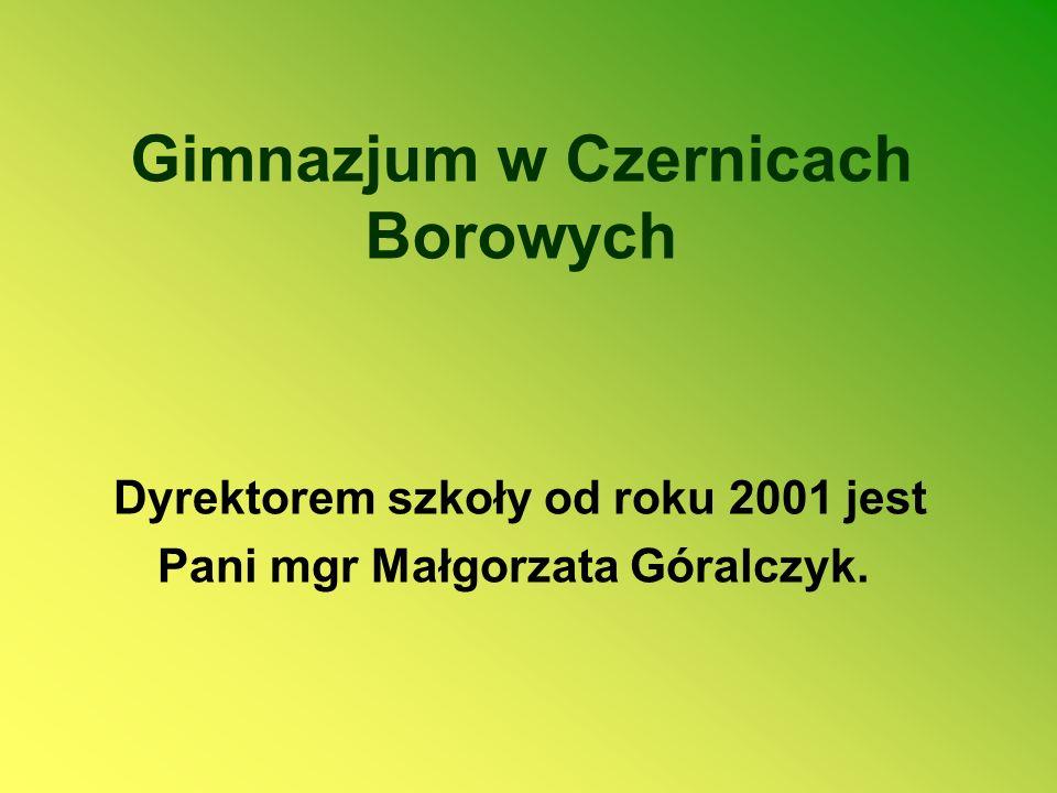 Gimnazjum w Czernicach Borowych