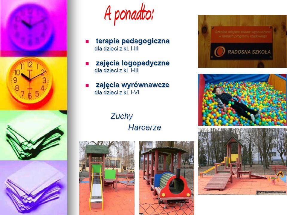 Zuchy Harcerze terapia pedagogiczna zajęcia logopedyczne