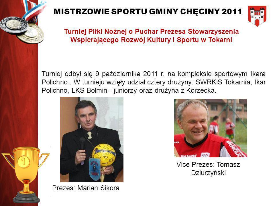 Turniej Piłki Nożnej o Puchar Prezesa Stowarzyszenia Wspierającego Rozwój Kultury i Sportu w Tokarni