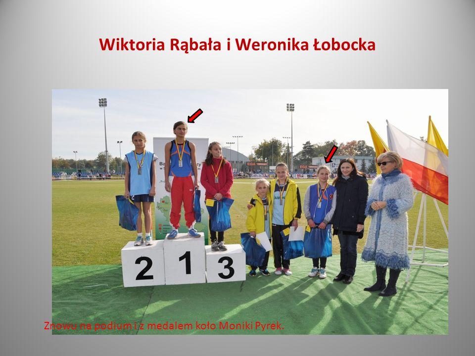 Wiktoria Rąbała i Weronika Łobocka