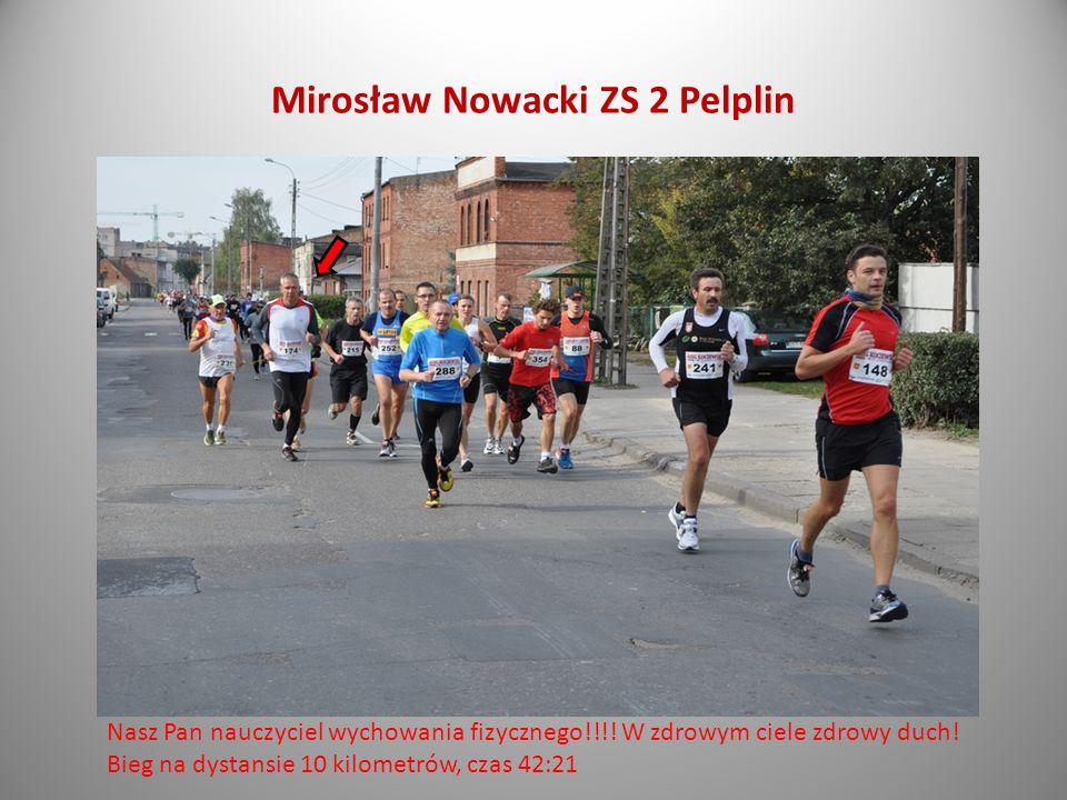 Mirosław Nowacki ZS 2 Pelplin