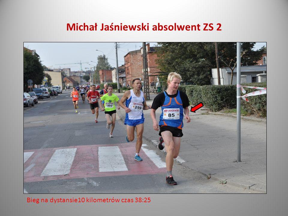 Michał Jaśniewski absolwent ZS 2