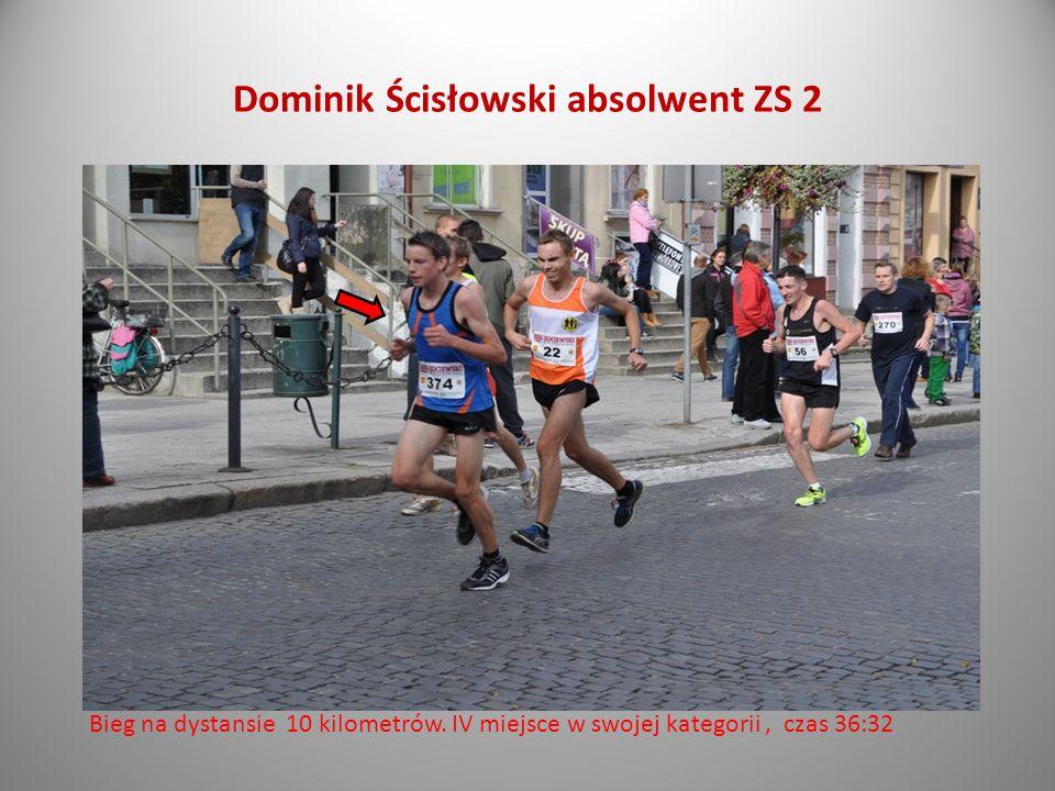 Dominik Ścisłowski absolwent ZS 2