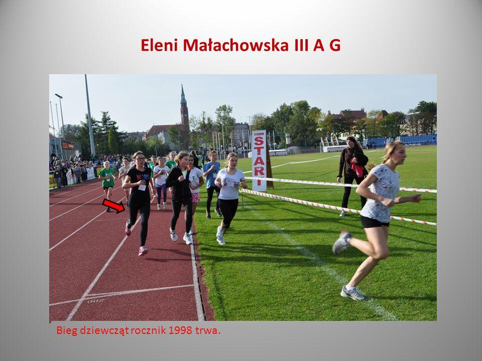 Eleni Małachowska III A G