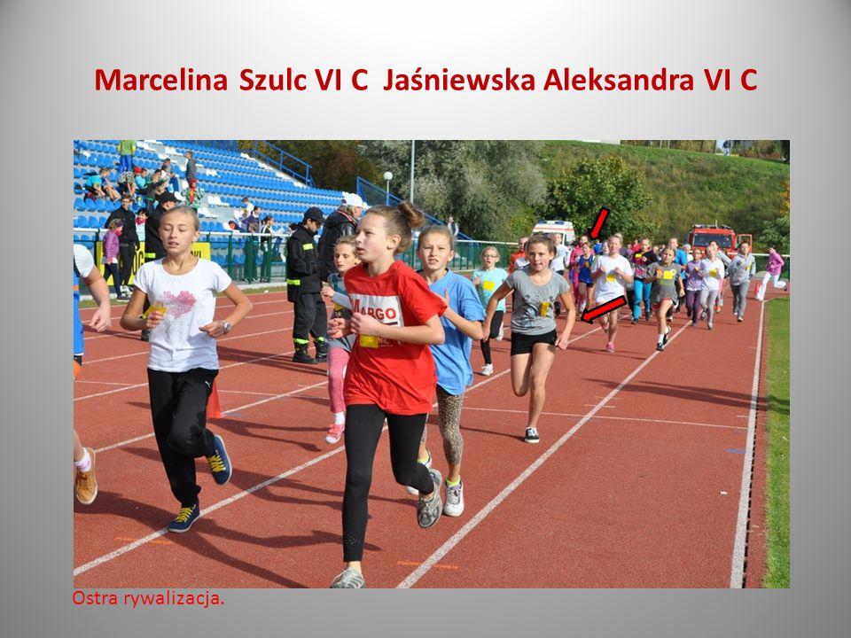Marcelina Szulc VI C Jaśniewska Aleksandra VI C