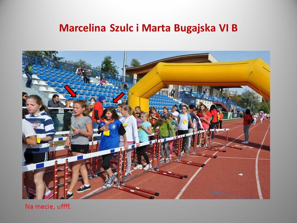 Marcelina Szulc i Marta Bugajska VI B