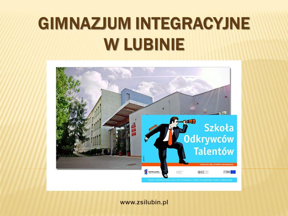 Gimnazjum Integracyjne w Lubinie