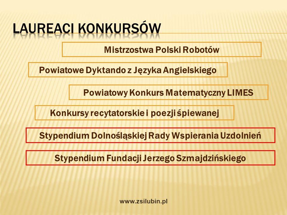 Laureaci konkursów Mistrzostwa Polski Robotów