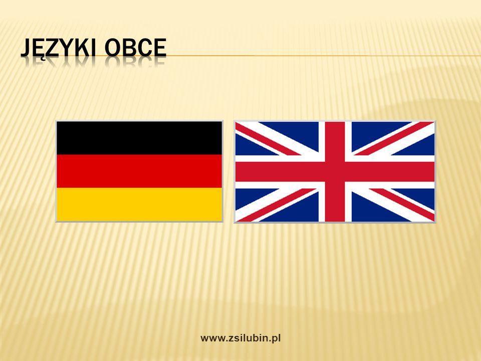Języki obce www.zsilubin.pl