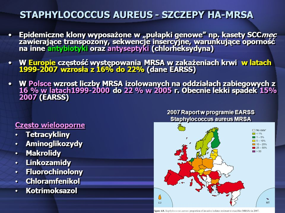 STAPHYLOCOCCUS AUREUS - SZCZEPY HA-MRSA