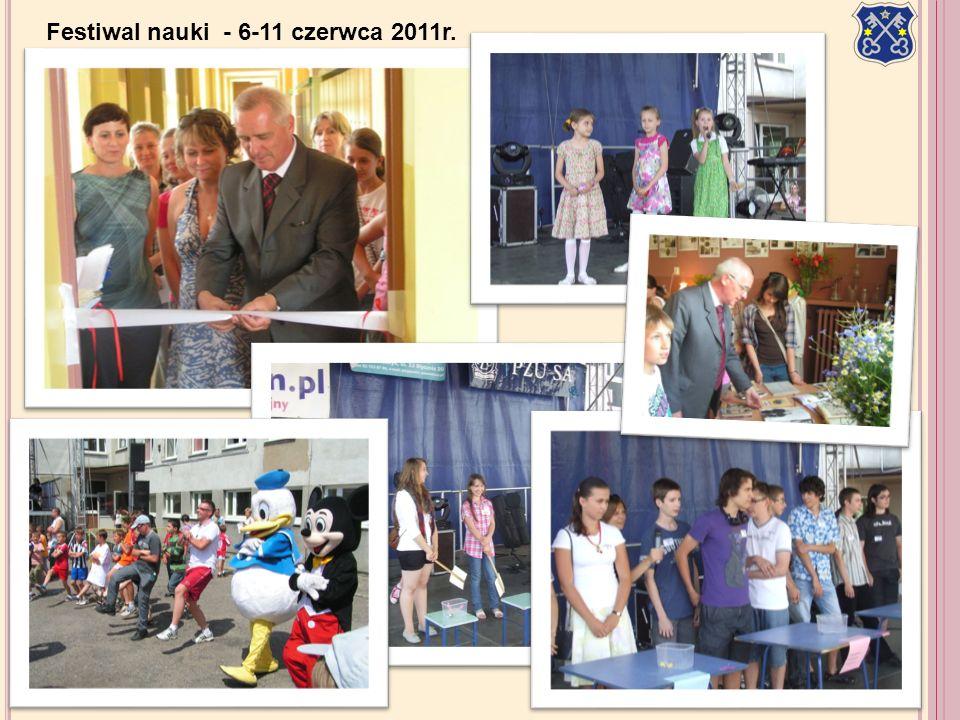 Festiwal nauki - 6-11 czerwca 2011r.
