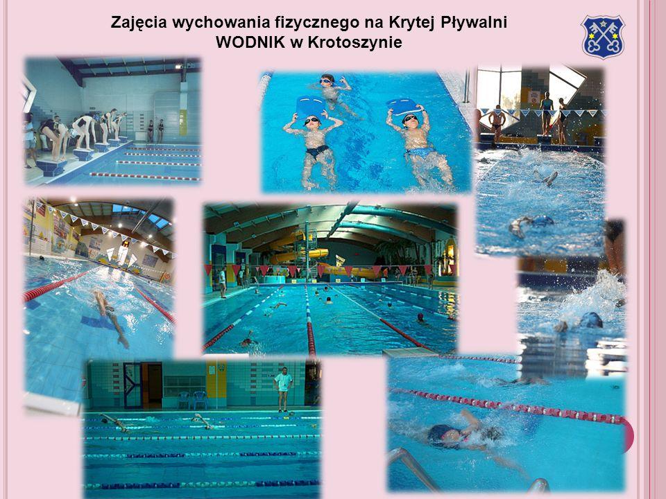 Zajęcia wychowania fizycznego na Krytej Pływalni