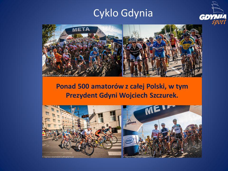 Cyklo Gdynia Ponad 500 amatorów z całej Polski, w tym