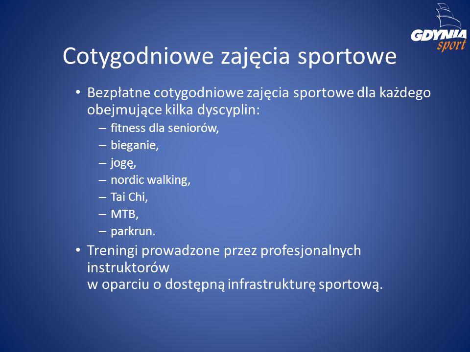 Cotygodniowe zajęcia sportowe