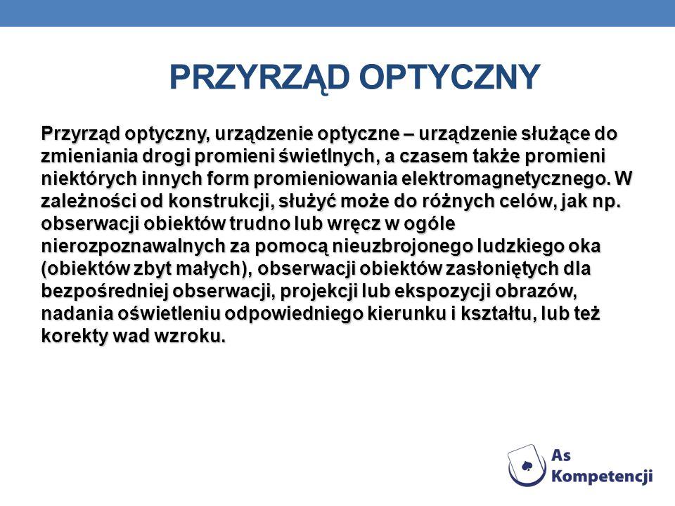 Przyrząd optyczny
