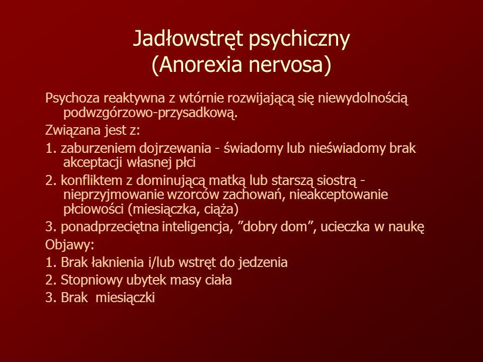 Jadłowstręt psychiczny (Anorexia nervosa)