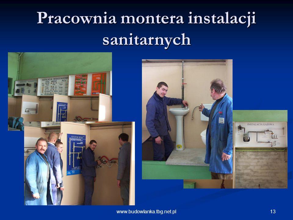 Pracownia montera instalacji sanitarnych