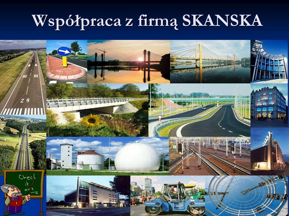 Współpraca z firmą SKANSKA