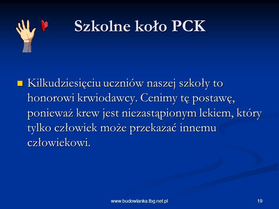 Szkolne koło PCK