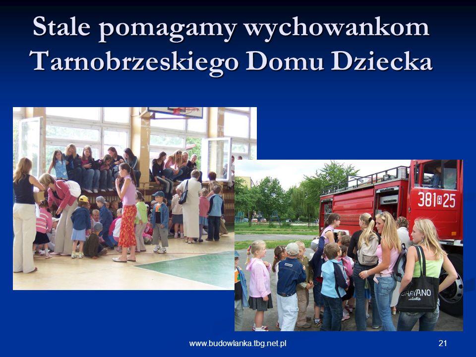 Stale pomagamy wychowankom Tarnobrzeskiego Domu Dziecka