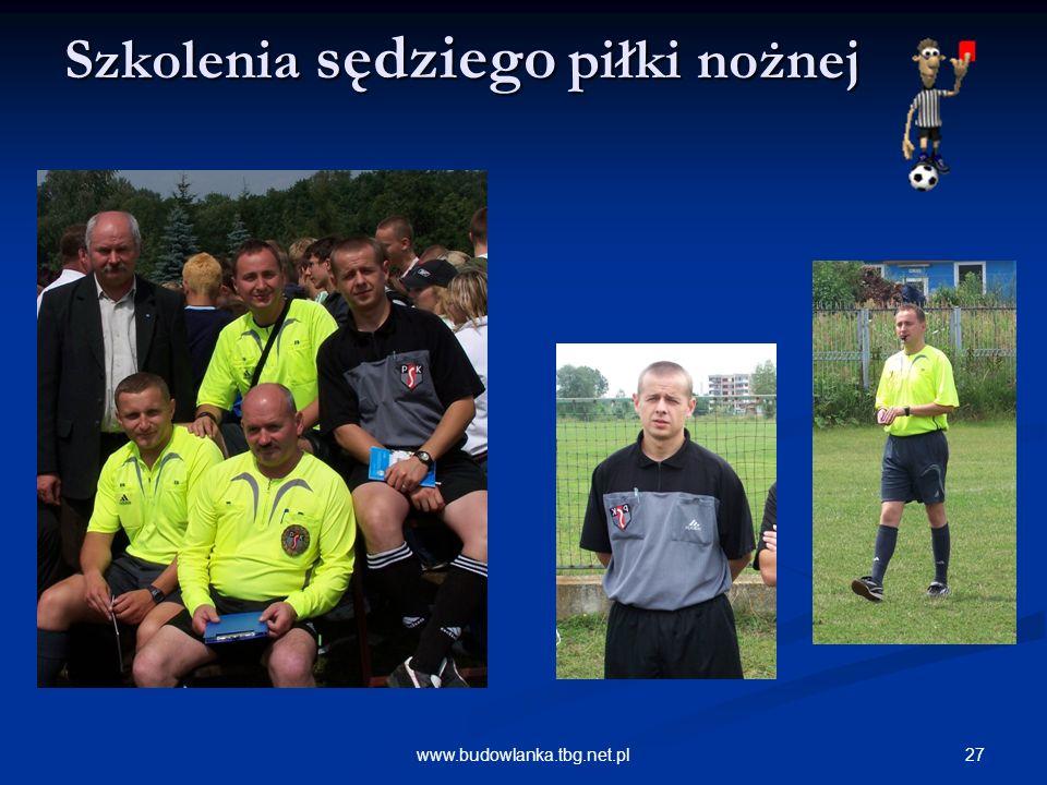 Szkolenia sędziego piłki nożnej