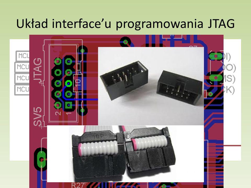 Układ interface'u programowania JTAG