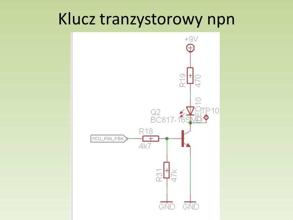 Klucz tranzystorowy npn
