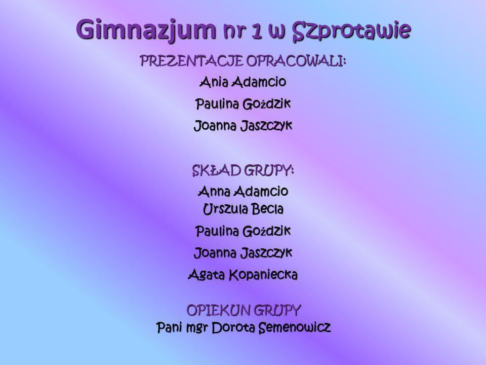 Gimnazjum nr 1 w Szprotawie