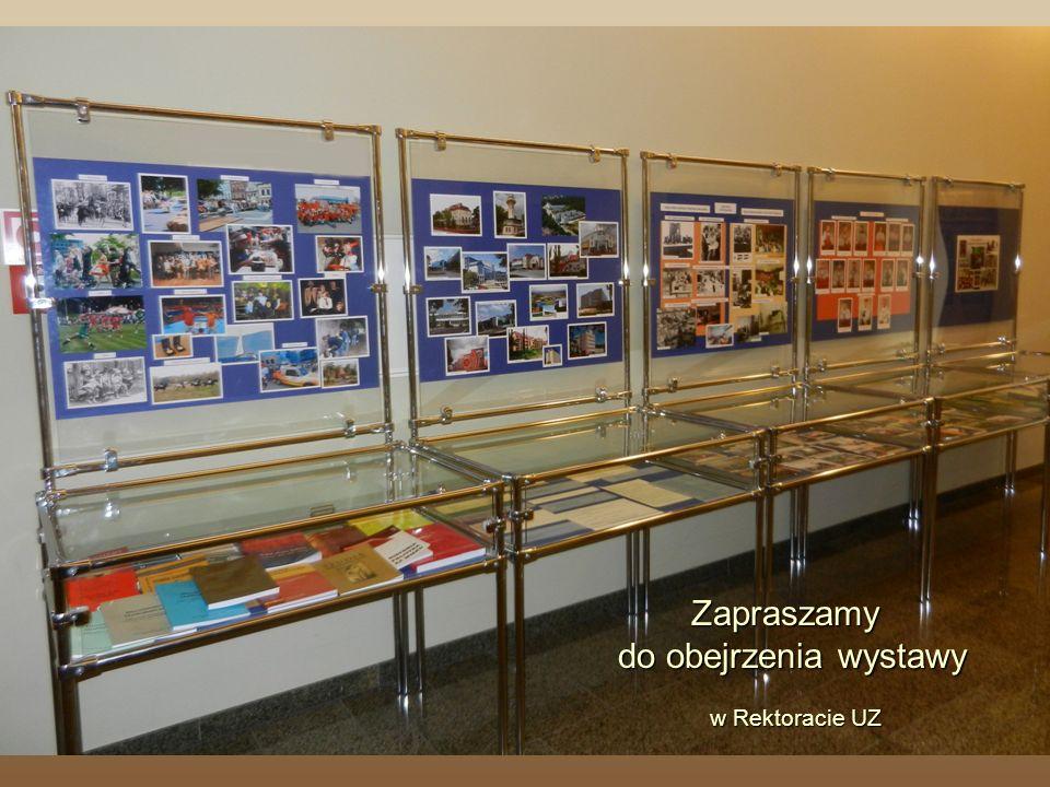 Zapraszamy do obejrzenia wystawy w Rektoracie UZ