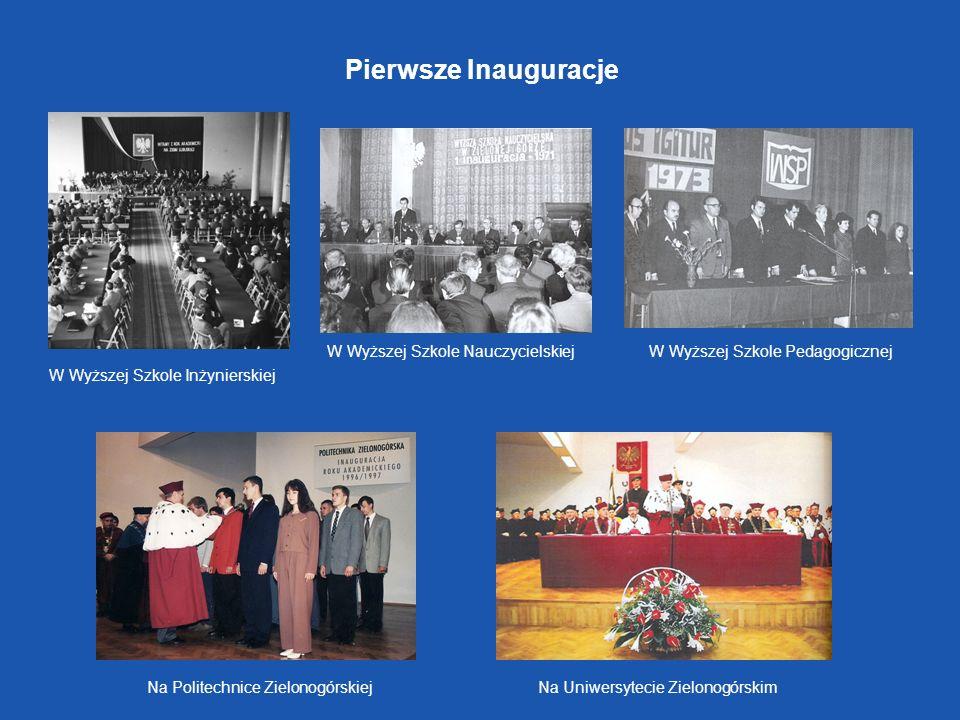 Pierwsze Inauguracje W Wyższej Szkole Nauczycielskiej