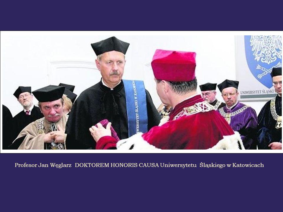 Profesor Jan Węglarz DOKTOREM HONORIS CAUSA Uniwersytetu Śląskiego w Katowicach