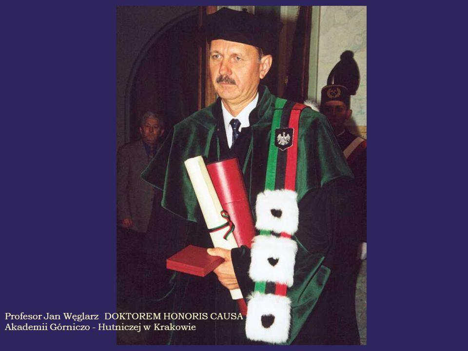 Profesor Jan Węglarz DOKTOREM HONORIS CAUSA