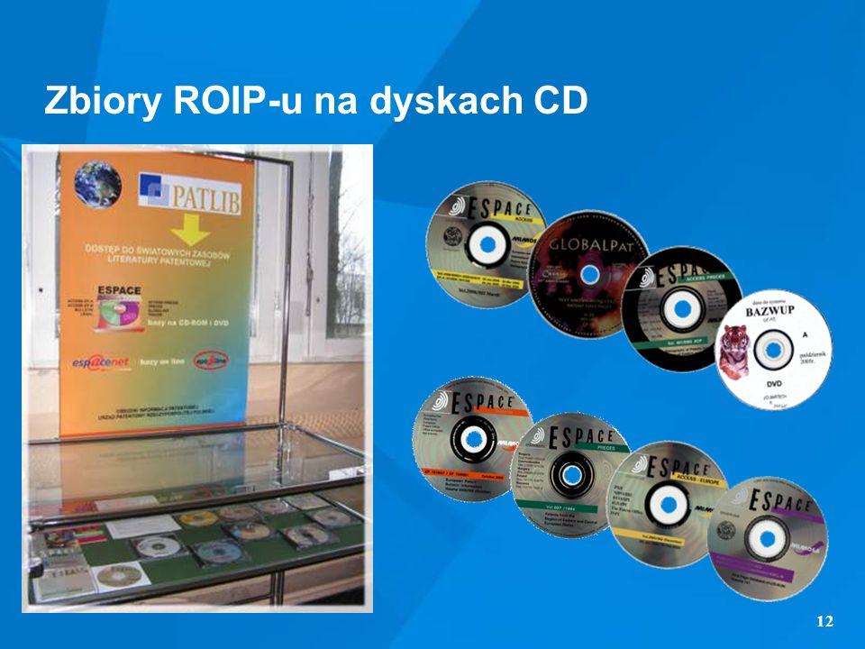 Zbiory ROIP-u na dyskach CD