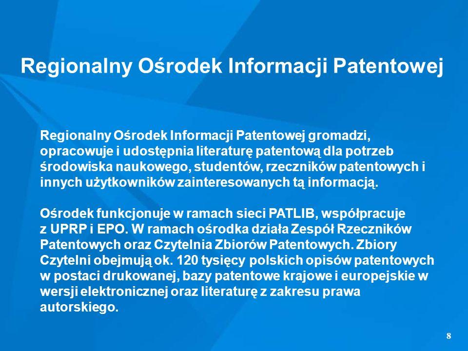 Regionalny Ośrodek Informacji Patentowej