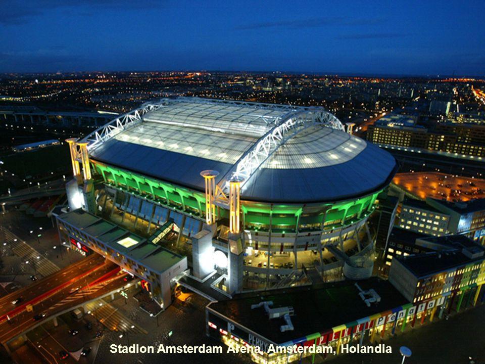 Stadion Amsterdam Arena, Amsterdam, Holandia