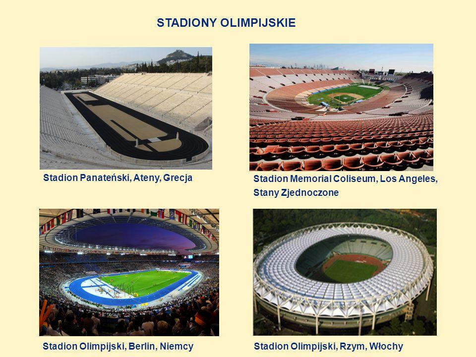 STADIONY OLIMPIJSKIE Stadion Panateński, Ateny, Grecja