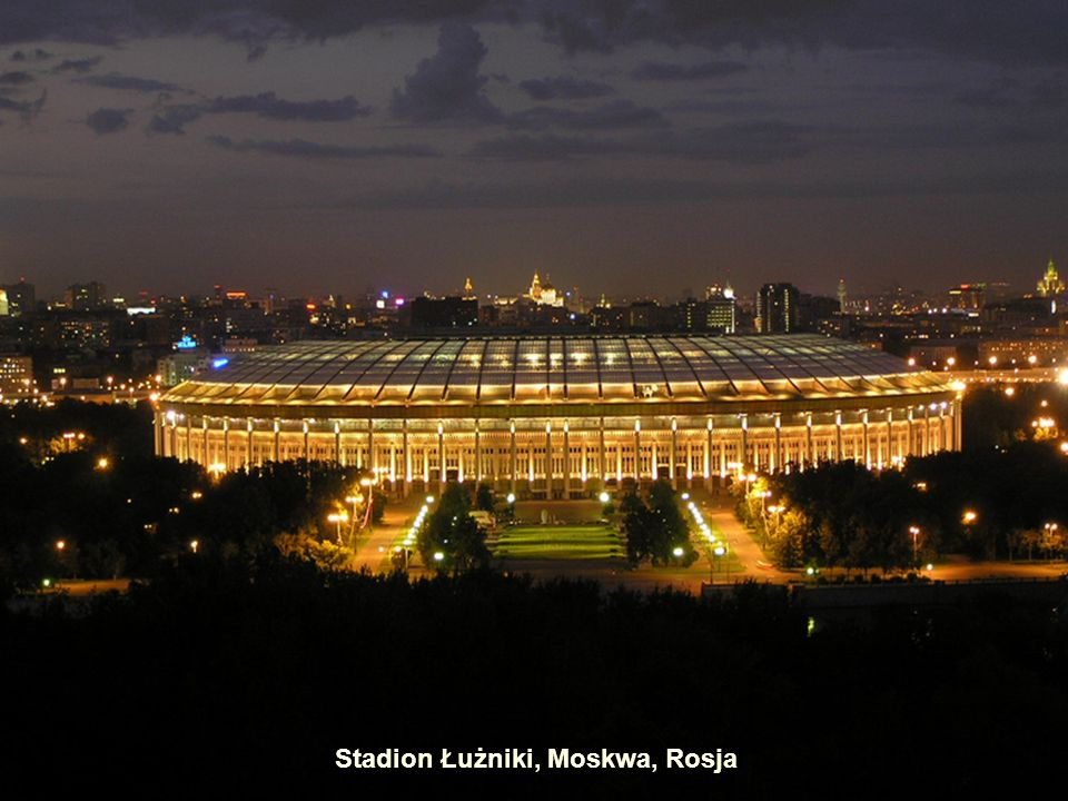 Stadion Łużniki, Moskwa, Rosja